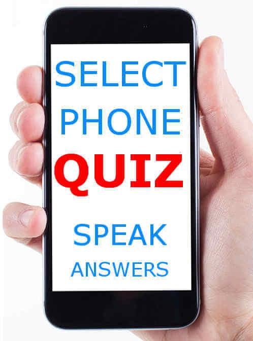Phone quiz Australia